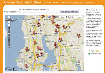garage-sale-tips-maps.com