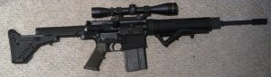 AR-10 10A4C with Magpul UBR