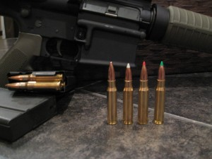 Black Hills, Federal Premium, and Nosler Custom rounds together