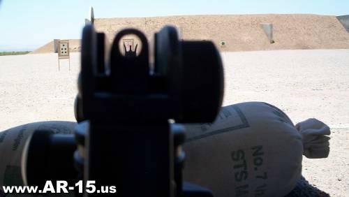 AR-15 Iron Sights