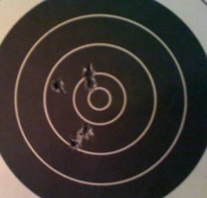 AR-15 with Iron Sights at 25 Yards
