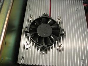 SGI Indigo 2 IMPACT 10000 with unused CPU fan.