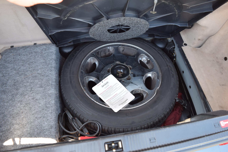 R129 Spare Tire