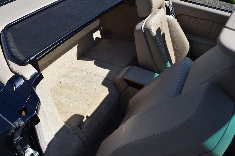 R129 Back Seat