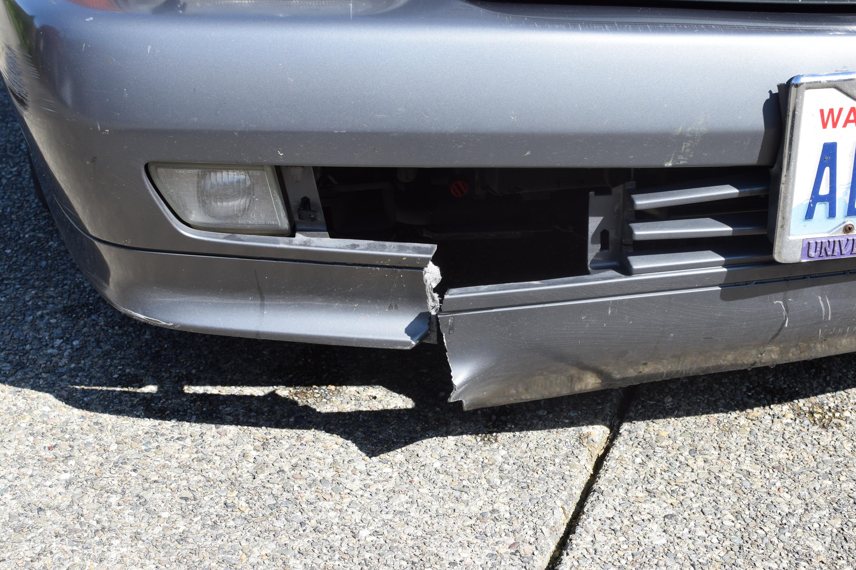 R129 SL600 Broken Bumper (1)