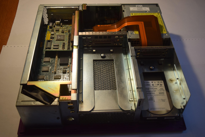 Rare SGI Silicon Graphics Non-Impact Purple Indigo 2 CDROM