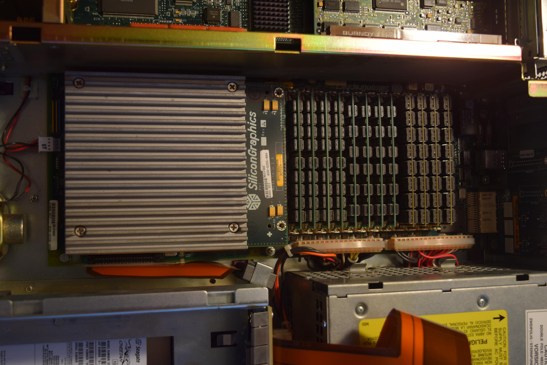 Rare SGI Silicon Graphics Non-Impact Purple Indigo 2 CPU