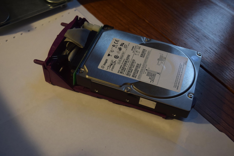 Rare SGI Silicon Graphics Non-Impact Purple Indigo 2 Drive