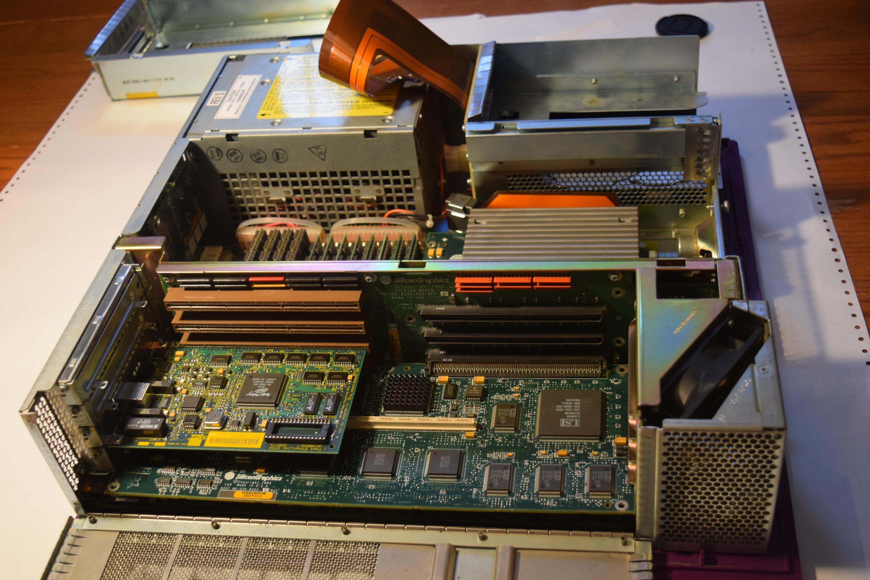 Rare SGI Silicon Graphics Non-Impact Purple Indigo 2 Expansion