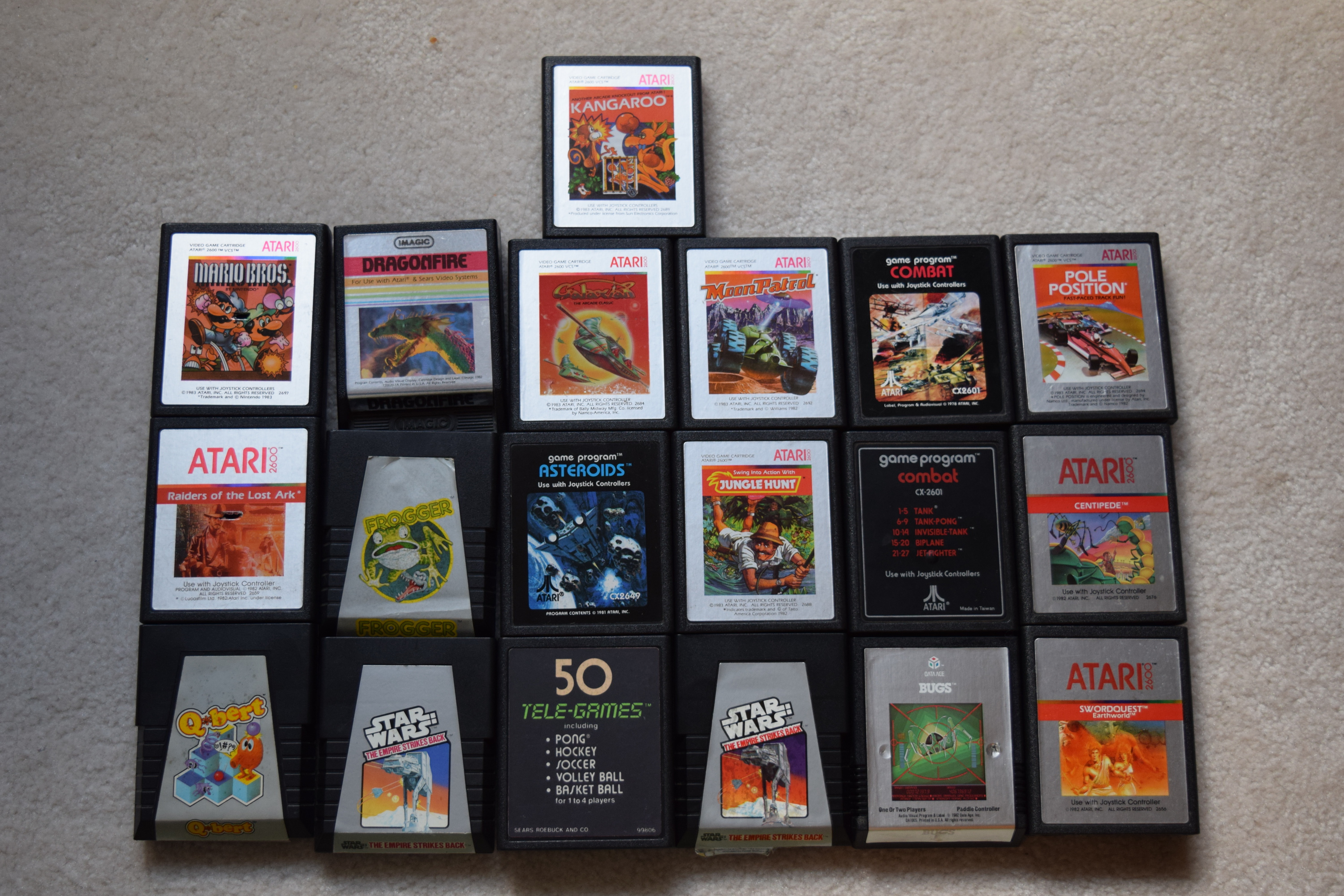 Atari 2600 Cartridges 2