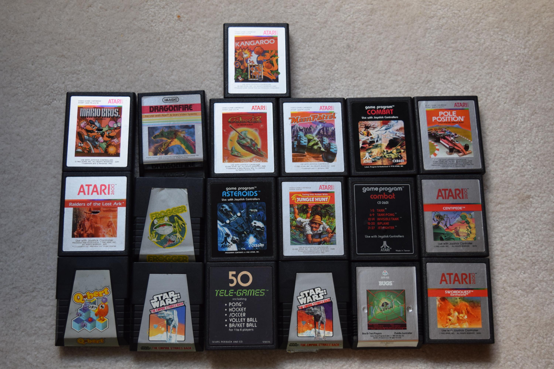 Atari 2600 Cartridges 2